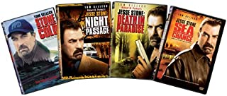 Jesse Stone 4-pack: (Stone Cold / Night Passage / Death in Paradise / Sea Change)