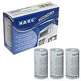3 Rollo de Papel Térmico para Tacografo Digital 8 metros Homologado HAUG ISO 9001 (1 Caja)