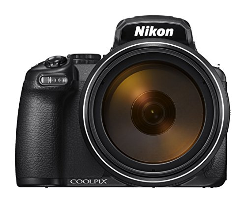 Nikon COOLPIX P1000 16.7 Digital Camera with 3.2' LCD, Black