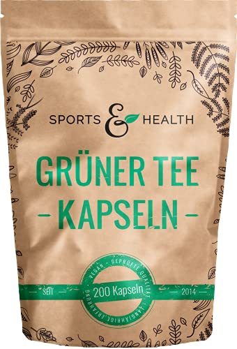 CDF Sports & Health Solutions -  Grüner Tee Kapseln