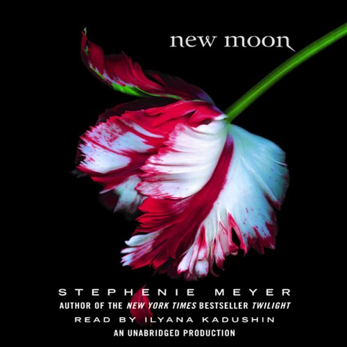 New Moon: Twilight Series, Book 2                   By:                                                                                                                                 Stephenie Meyer                               Narrated by:                                                                                                                                 Ilyana Kadushin                      Length: 15 hrs and 15 mins     13 ratings     Overall 4.7