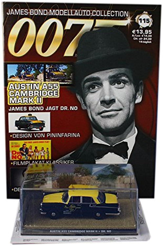007 James Bond Car Collection  115 Austin A55 Cambridge Mark II taxi (Doctor No)