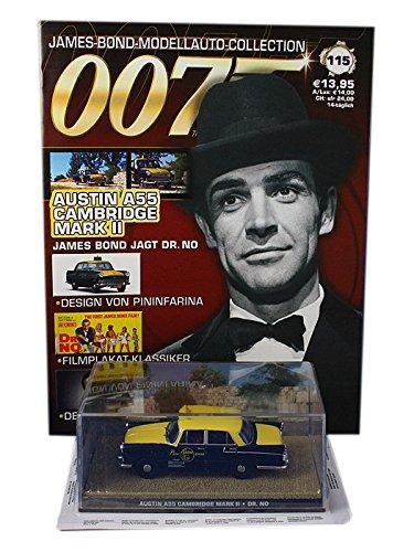 Eaglemoss 007 James Bond Car Collection Nº 115 Austin A55 Cambridge Mark II Taxi (Doctor No)