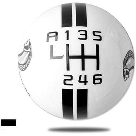 Bingohobby Schaltknauf 6 Gang Schalthebel Knäufe Gear Shift Knob Universal Auto Tuning Ersatz Autozubehör Reparaturteile Auto