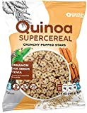 Awsum Snacks Quinoa SUPERCEREAL with Chia seeds & Cinnamon 6 Oz - Healthy Breakfast Cereal - Sugar Free, Kosher Grain & Gluten Free Cereals Snack - Vegan Diabetic Grocery Foods