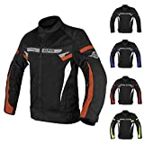 ALPHA CYCLE GEAR BREATHABLE BIKERS RIDING PROTECTION...