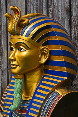 Goldmaske, Totenmaske des Tutenchamun, Tut-Ench-Amun Replik in ORIGINALGRÖSSE