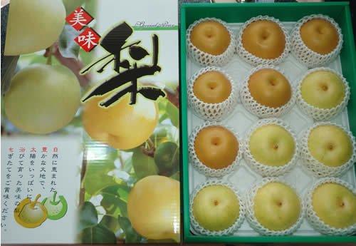 最高品質詰め合わせ 二十世紀梨 豊水梨 約5キロ大玉12個前後化粧箱入 贈答向け秀品 豊水 梨 20世紀梨 20世紀 二十世紀 和梨