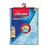 Vileda Viva Express Perfect Fit Elastic Bügeltischbezug, mit Nachspannsystem, blau
