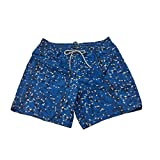 ZEYBRA Costume Uomo Boxer MOD AUB827 Flamingo Inchiostro Made in Italy (IT 56 - XXXL)