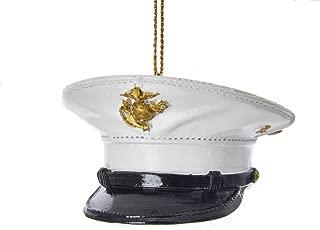 Kurt Adler U.S. Marine Corps Dress Uniform Hat Ornament