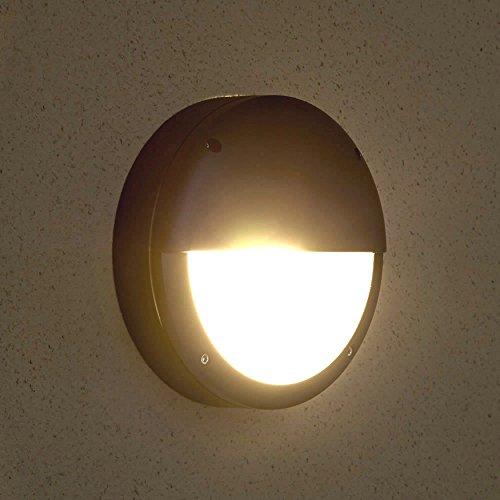 Biard - Applique Extérieure LED E27 9W - Design Inventif Demi-lune