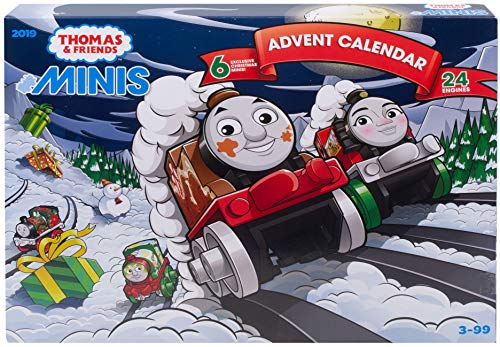 Thomas & Friends GGM30 MINIS Calendario dell'Avvento 2019, Multicolore