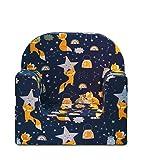 Miwido Mini kindersessel für Jungen und Mädchen - Klein Kinder Sessel für kinderzimmer - Baby Sofa Stuhl (Blauer Fuchs)