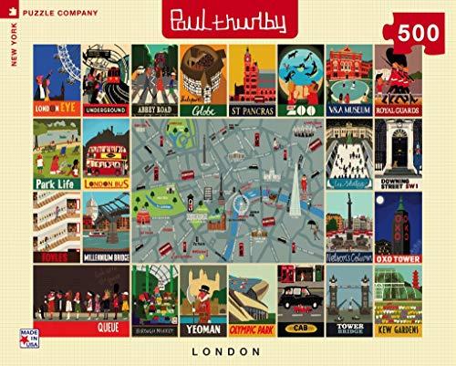 London Collage - NYPC Paul Thurlby colección Puzzle 500 Piezas