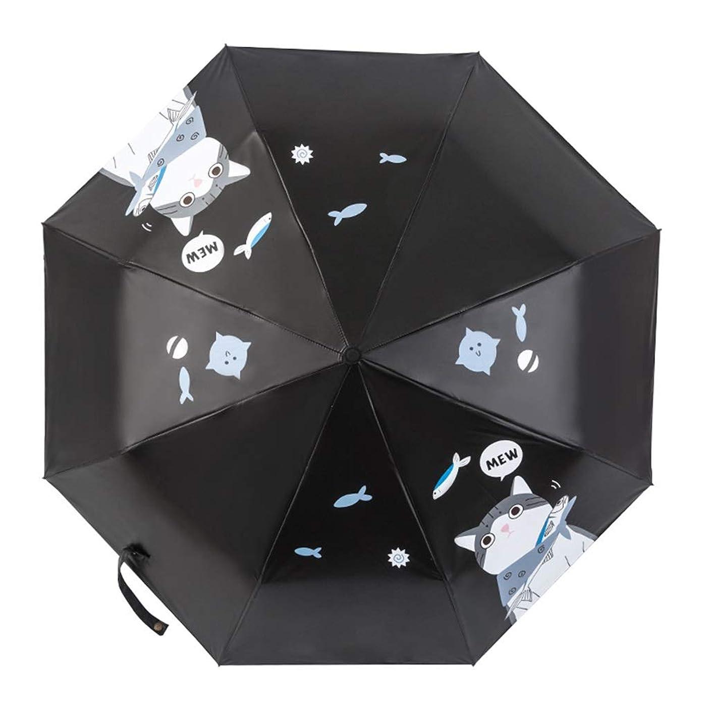 流す宅配便船員日傘傘折りたたみ傘紫外線保護ポータブル傘旅行傘ナノ防水 ZHYGDQ (Color : Blue)