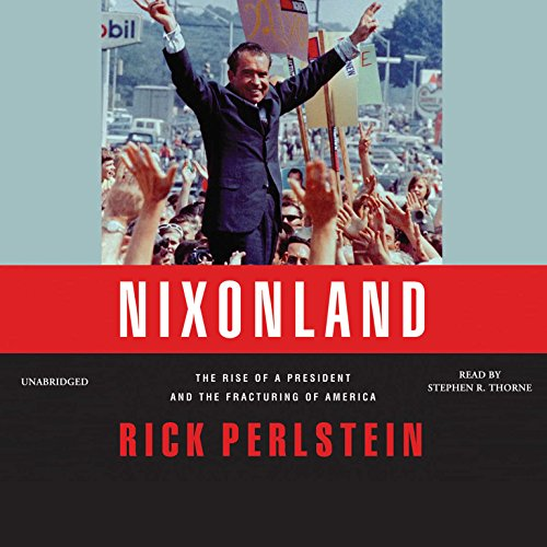 Nixonland audiobook cover art