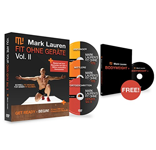MARK LAUREN - Trainingsprogramme in Fit Ohne Geräte II (German)