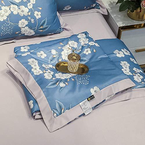 CHOU DAN nordicos Cama 135,4 Conjuntos de Software de algodón de algodón Suministros Dormitorio estudiante-15_Conjuntos de 1.5M A-4