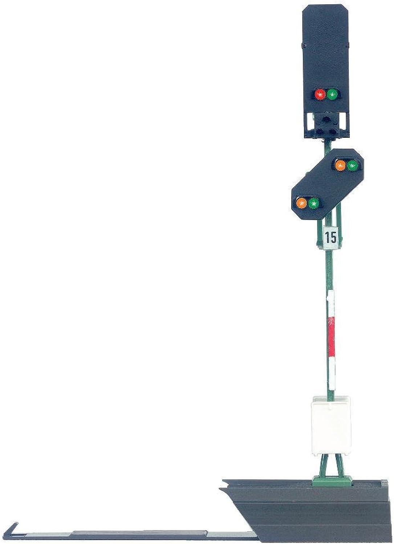 Mrklin 76495 - Licht-Blocksignal mit Vorsignal