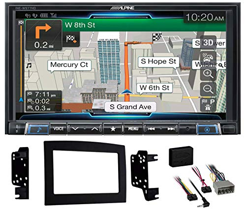 New Alpine 7 Bluetooth w/Navigation/GPS/Carplay for 2008-2010 Dodge Ram 4500/5500