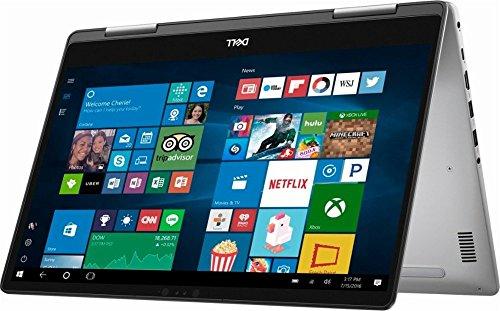 Dell Inspiron 7000 15.6' Convertible 2-in-1 FHD Touchscreen Laptop, 7th Intel Core i5-7200U Processor, 8GB DDR4 RAM, 256GB SSD, Bluetooth, HDMI, 802.11AC, Win 10 (Certified Refurbished)