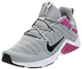 Nike CD0212-003, Running Shoe Womens, Light Smoke Grey/Black-Vivid Purple