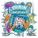 ブルーオレンジ ブレインコネクト マルチプレーヤー パズル レースカードゲーム (対象年齢8歳以上) (最大4人)