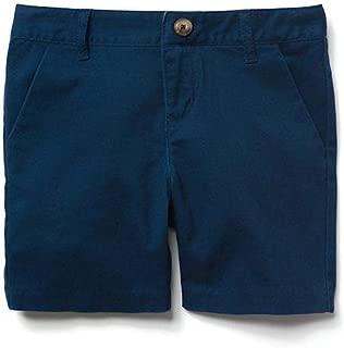 Gymboree Girls' Gym Navy Twill Shorts/Uniform Shorts 4