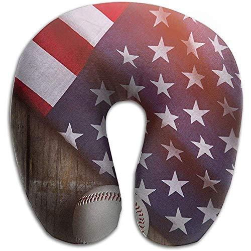 Kissen,Baseball America Stützkissen, Weiches Bequemes Stützkissen Für Innendekoration Im Freien