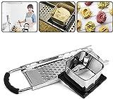 Rallador, Spaetzle Maker, Spatzle Tool, Utensilios de cocina multifunción, Rallador Spatzle de acero inoxidable, Máquina de pasta manual para Spaetzle