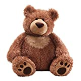 GUND Slumbers Teddy Bear Stuffed Animal Plush, Brown, 17'