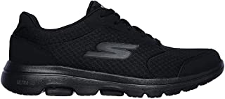 Skechers GO Walk 5 - Qualify Men's Casual Shoes, Black/Black