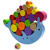 B.H. Select イルカ バランス ゲーム JOY@D-Balance 木製 知育玩具 積み木 創造力 集中力 を 育む ( ドルフィン ) BH96-1