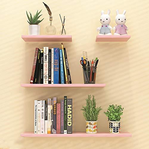 XUERUI Multifunctioneel rek, zwevend, speelgoed, opbergrek, wandrek, verborgen plank van hout met standaard