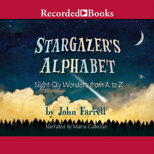 Stargazer's Alphabet audiobook cover art