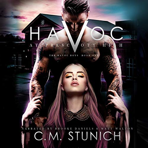 Havoc at Prescott High cover art