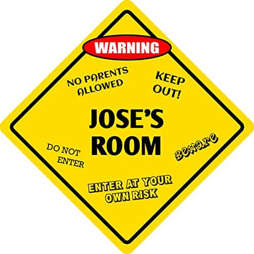 ForAluminum Inventory cleanup selling sale Jose's Room Max 79% OFF Kids Door 12