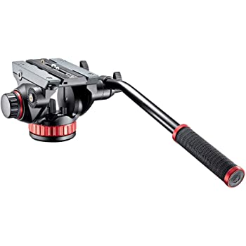 Manfrotto 502 Video Head MVH502AH,Black,15 Lbs