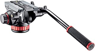 Manfrotto Video Head with Flat Base and Fixed Lever, Video Head for Compact Video Cameras and DSLR Cameras, for Filming, V...
