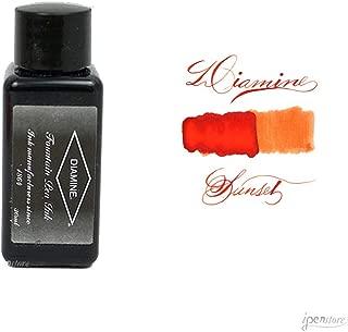 Diamine 30 ml Bottle Fountain Pen Ink, Sunset