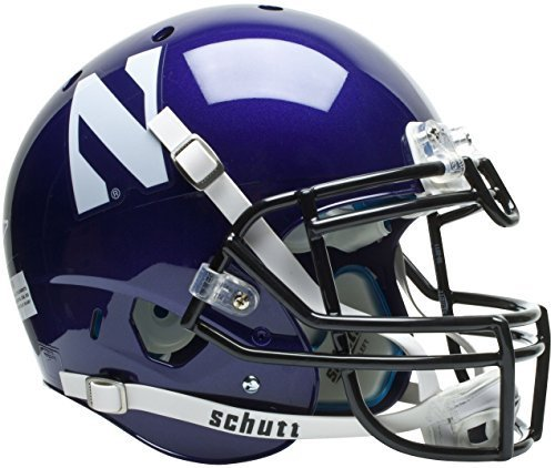 NORTHWESTERN WILDCATS Schutt AiR XP Full-Size AUTHENTIC Football Helmet by ON-FIELD