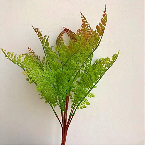 ZJJZH Kunstbloemen Simulatie gras decoratie koriander achtergrond decoratie gras vier seizoenen koriander met geur gras 40cm Bloemenproducten zijn inclusief: Kunstbloemen.