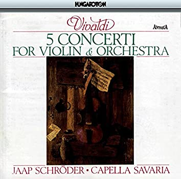 5 Concerti for Violin and Orchestra
