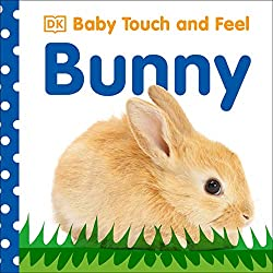 Baby Touch and Feel Bunny Book for baby