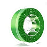 SainSmart PRO-3 Tangle-Free Premium 1.75mm Silk-PLA 3D Printer Filament, Green Silk-PLA, 2.2 LBS (1KG) Spool, Dimensional Accuracy +/- 0.02mm