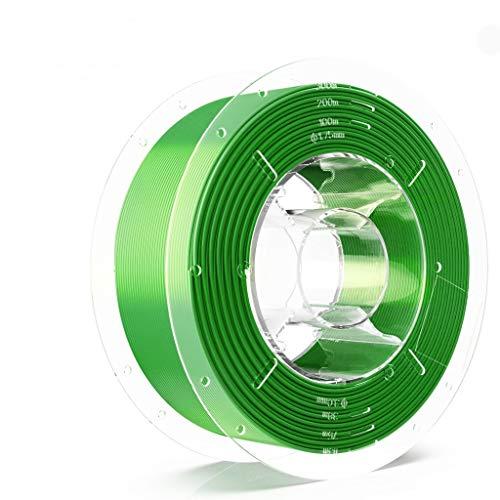 SainSmart PRO-3 Tangle-Free Premium 1.75mm PLA 3D Printer Filament, PLA, 2.2 LBS (1KG) Spool, precisione dimensionale +/- 0.02mm, verde