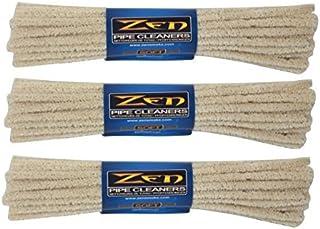 ZEN 3 Bundles Pipe Cleaners, Soft, 132 Count