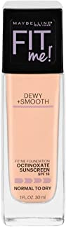 Maybelline Fit Me Dewy & Smooth Luminous Liquid Foundation - Ivory 115