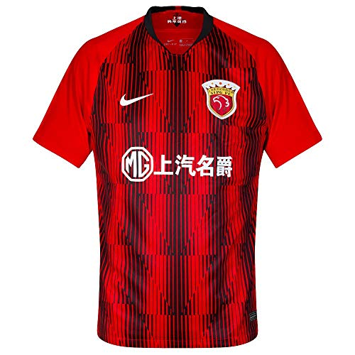 Nike Herren Shg BRT Stad JSY Ss Hm Unterhemd, Challenge red/Black/White, L